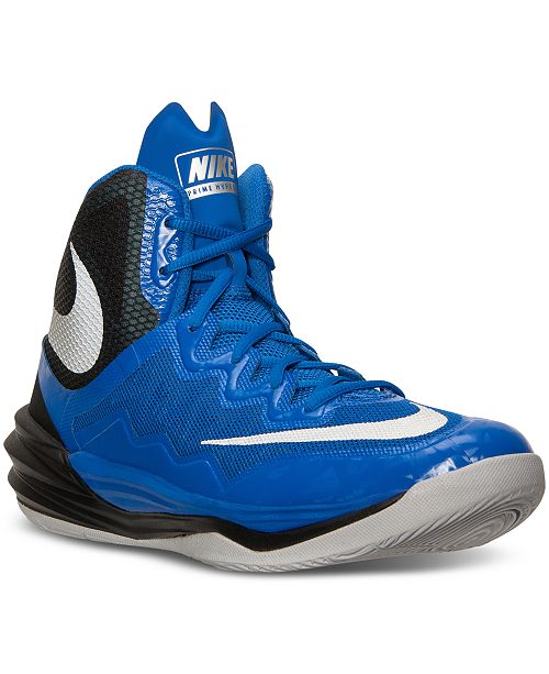 best cheap 1ca27 d9e4a Nike Men's Prime Hype DF II Basketball Sneakers from Finish ...