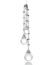 Holiday Lane Clear Dangling Beads Ornament, Created for Macy's
