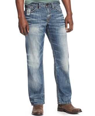 Mens Silver Jeans Clearance - Xtellar Jeans