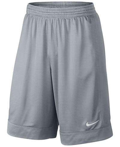 Nike Men's 11 Fastbreak Striped Basketball Shorts
