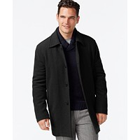 Deals on Cole Haan Wool-Blend Coat
