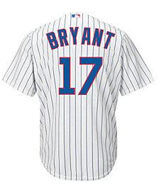Majestic Kids' Kris Bryant Chicago Cubs Replica Jersey, Big Boys (8-20)