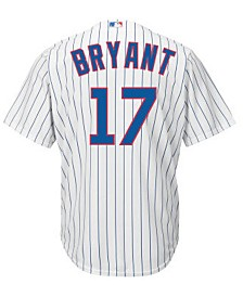 Majestic Kids' Kris Bryant Chicago Cubs Replica Jersey, Big Boys (8-20)