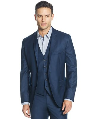 INC International Concepts Men's James Slim-Fit Suit Jacket ...