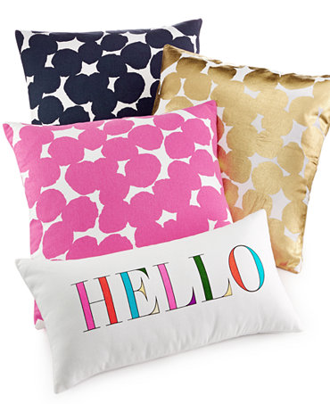 Throw Pillows One Kings Lane : kate spade new york Decorative Pillow Collection - Decorative Pillows - Bed & Bath - Macy s