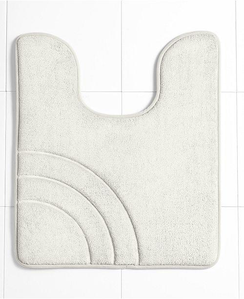 Sunham Closeout Inspire Memory Foam 21 X 24 Contour Bath Rug