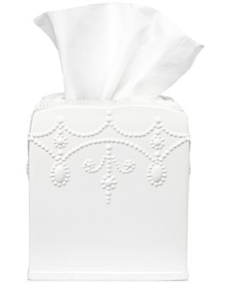 Bath French Perle Tissue Holder