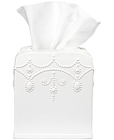 Lenox Bath French Perle Tissue Holder