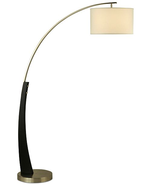 Nova Lighting Plimpton Wood Arc Floor