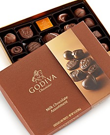 Godiva Large Milk Assortment, 22-Piece