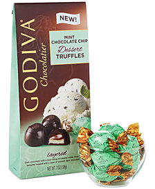 Godiva Individually Wrapped Mint Chocolate Chip Truffles