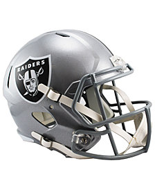 Riddell Oakland Raiders Speed Replica Helmet