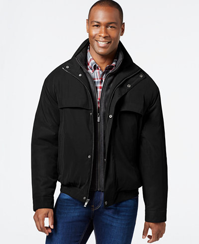 Weatherproof Bomber Jacket with Attached Bib - Coats & Jackets ...
