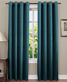 "Collins 50"" x 95"" Crushed Woven Curtain Panel"