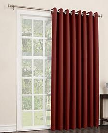 """Preston 100"""" x 84"""" Grommet Top Blackout Patio Curtain Panel"""