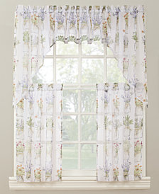 Lichtenberg Eve's Garden Tier & Valance Collection