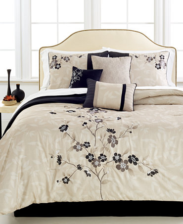 Mirabelle 7 Pc King Comforter Set Bed In A Bag Bed