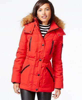 1 Madison Expedition Womens Winter Anorak Parka Coat