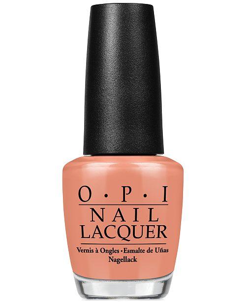 OPI Nail Lacquer, A Great Opera-tunity