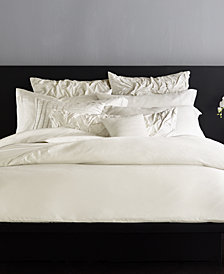 CLOSEOUT! Donna Karan Silk Essentials Pearl Bedding Collection