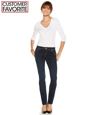 INC International Concepts Skinny Curvy-Fit Jeans, Diva Wash, Only ...