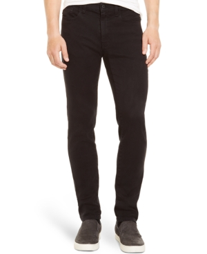 Kenneth Cole Reaction Straight-Leg Black Rinse Jeans