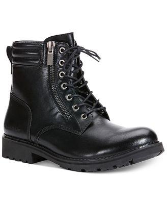 Calvin Klein Jeans Kai Moto Boots - All Men\'s Shoes - Men - Macy\'s