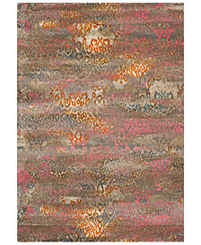 "CLOSEOUT! Dalyn Modern Abstracts Salon Multi 3'3"" x 5'1"" Area Rug"