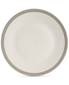 Vera Wang Wedgwood Dinnerware, Gradients Linen Porcelain Dinner Plate