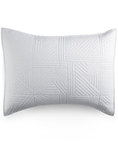 CLOSEOUT! bluebellgray Kintail Solid White Standard Sham