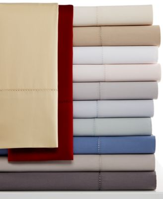 Image of Hotel Collection Pair of 600 Thread Count Standard Pillowcases - European Collection