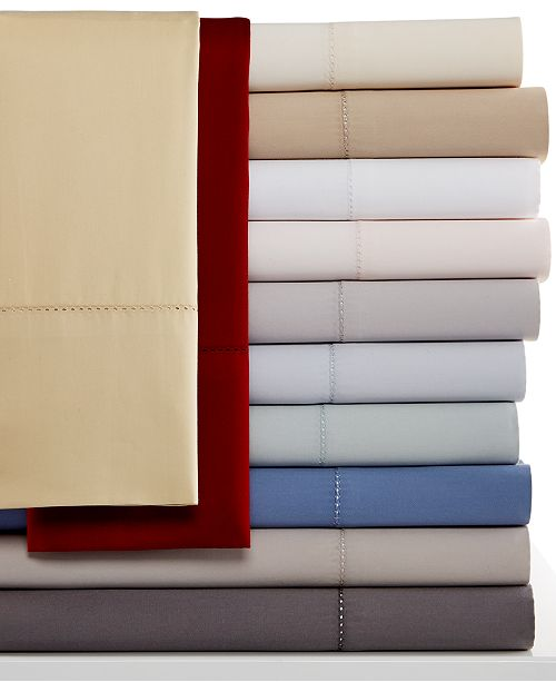 European Sheet Collection 600 Thread Count Cotton Created For Macy S Hotel