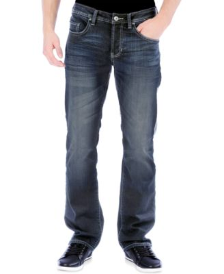 Slim bootcut stretch jeans