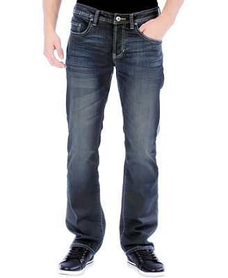 Buffalo David Bitton Men's King-X Slim-Bootcut Stretch Jeans ...