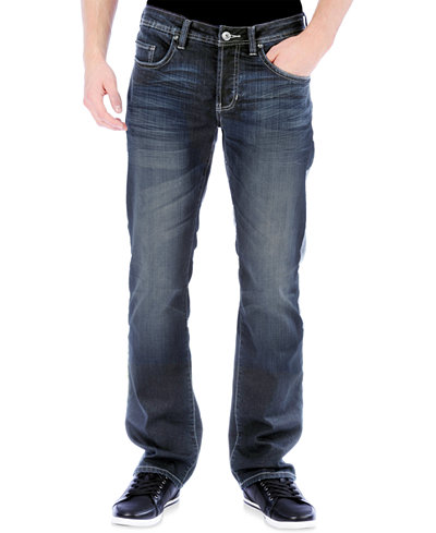Buffalo David Bitton Men's King-X Slim-Bootcut Stretch Jeans ...