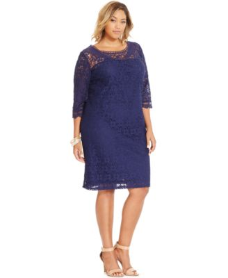 Macy Plus Size Gowns