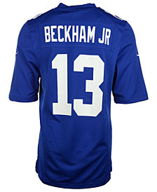 Nike Kids' Odell Beckham Jr. New York Giants Game Jersey, Big Boys (8-20)