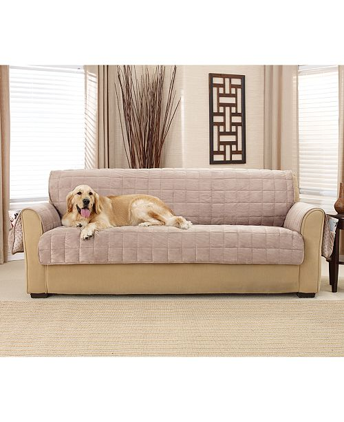 Prime Deep Pile Polyester Velvet With Non Skid Paw Print Pet Back Sofa Furniture Cover Andrewgaddart Wooden Chair Designs For Living Room Andrewgaddartcom