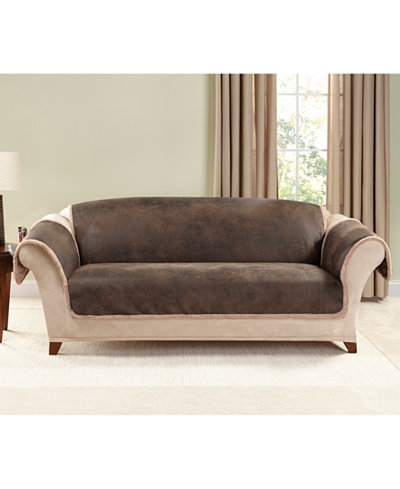 Sure Fit Leather Couch Covers