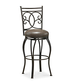 Nadia Counter Height Bar Stool, Quick Ship