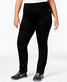 Calvin Klein Performance Plus Size Pull-On Active Leggings