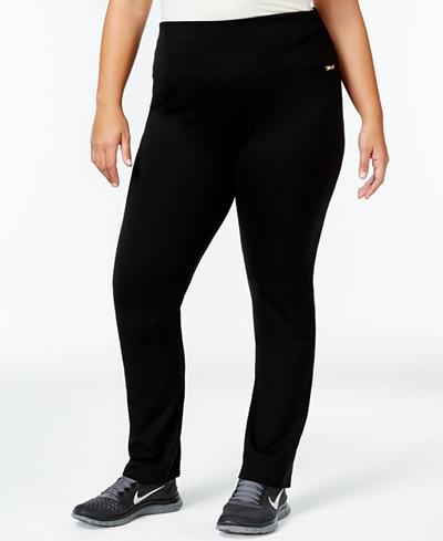 Calvin Klein Performance Plus Size Pull-On Active Leggings