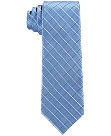 Big Boys Etched Grid Necktie