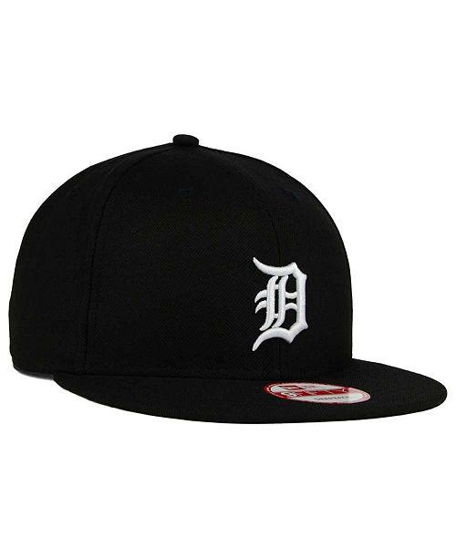 7b9ac33ef49 New Era Detroit Tigers B-Dub 9FIFTY Snapback Cap - Sports Fan Shop ...
