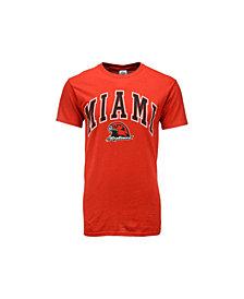 J America Men's Miami (Ohio) RedHawks Midsize T-Shirt