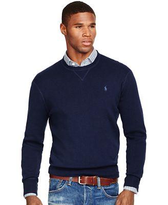 Polo Ralph Lauren Mens Crewneck Sweater Sweaters Men Macys
