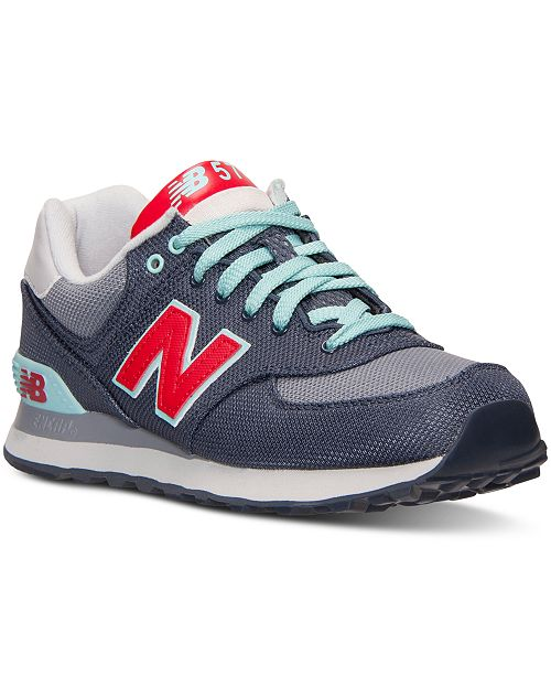 New Balance Women's 574 Winter Harbor Casual Sneakers from