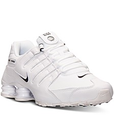 Men's Shox NZ EU Running Sneakers from Finish Line