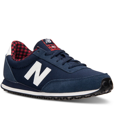 New Balance 410 Navy Womens Low Top Trainers