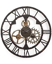 Metal Cogsworth Clock